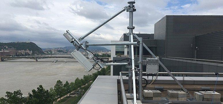 Már Budapesten is van 5G bázis