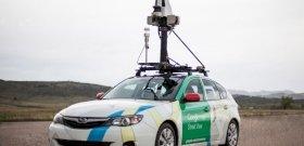 Magyarországon borult árokba a Google autója
