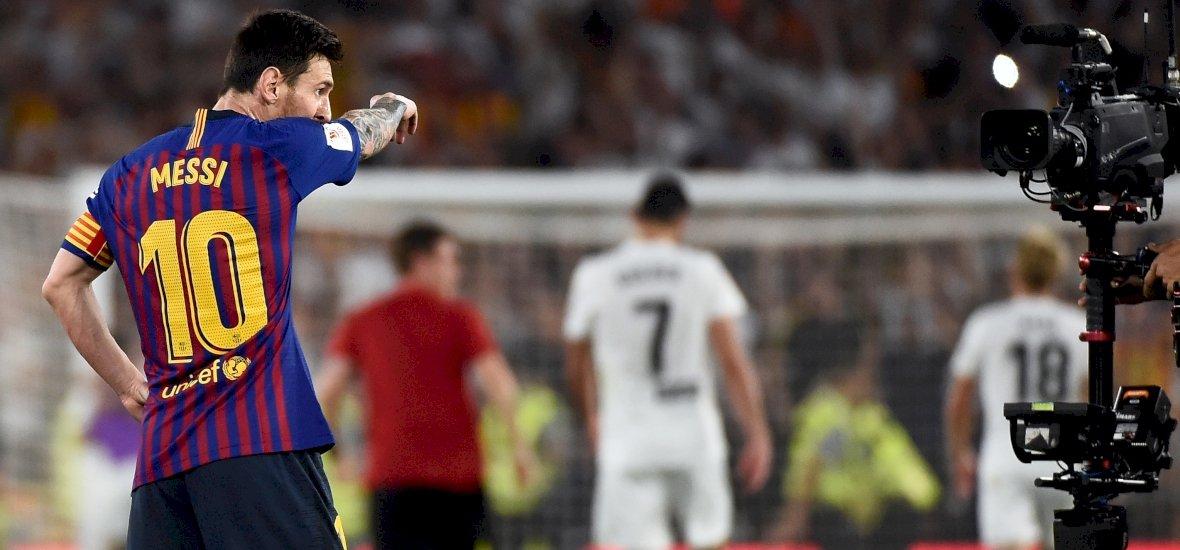 Hiába Messi rekordja a Király Kupa döntőjében