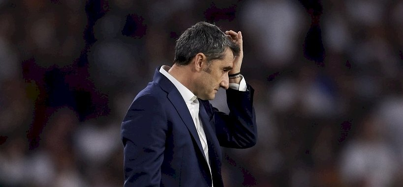 A Barcelona kirúgja edzőjét, Ernesto Valverdét – sajtóhír