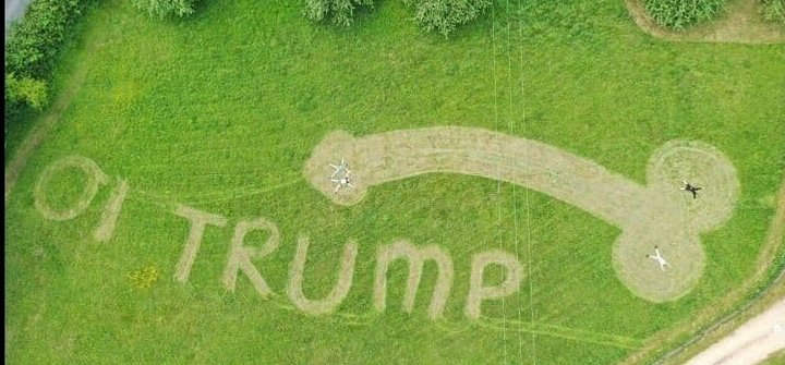 """""""Kedves"""" üzenettel fogadták Trumpot Nagy-Britanniában"""