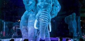Egy német cirkusz valódi helyett hologram állatokat használ – elképesztő látvány