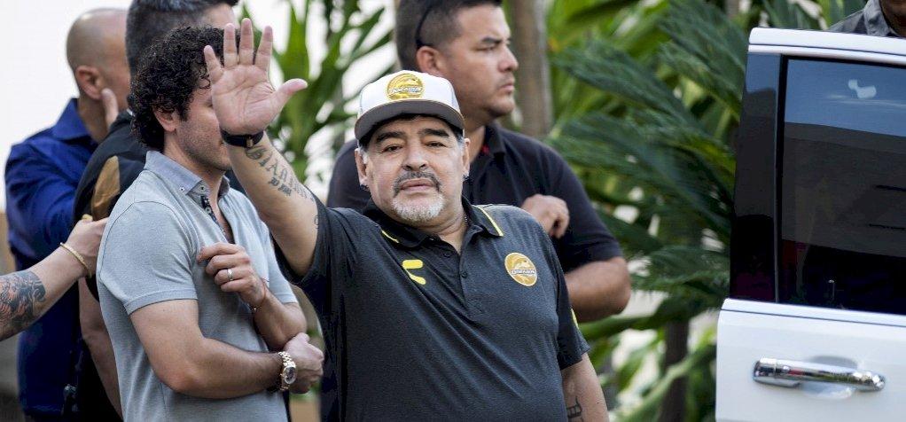 """Maradona kiakadt az argentin válogatotton, """"még Tonga is megverne minket"""""""