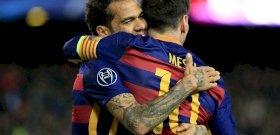 Szemmel is nehéz volt követni, amit Messi és brazil társa művelt