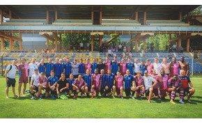 Az olasz fociklub a honlapján közölte az Egri-Erbstein-torna fotóit