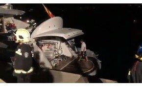 Vlagyimir Klicsko majdnem bennégett egy jachtban