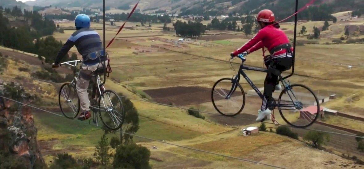 Tudod, milyen az égi biciklis pálya? Itthon épül egy!