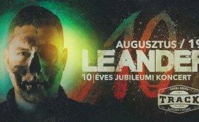 Tíz éve Leander