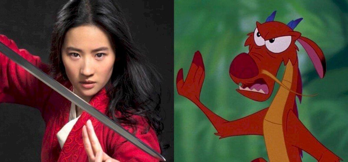 Mushu nélkül készülhet el az élőszereplős Mulan
