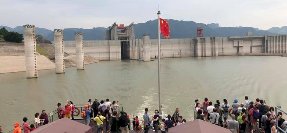 Zsolt utazása: a kínai hajó VIP-étterme és a Három-szurdok-gát – galéria