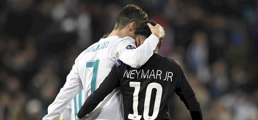 Ronaldo és Neymar nekiállt pofozkodni