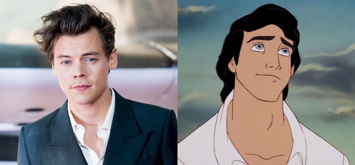 A One Direction énekese lehet A kis hableány remake Eric hercege
