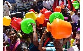 Elfogyott a víz egy indai metropoliszban, jövőre 21 városban fog
