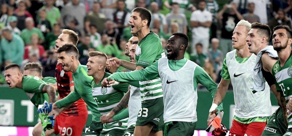 Bajnokok Ligája: kettős győzelemmel jutott tovább a Ferencváros