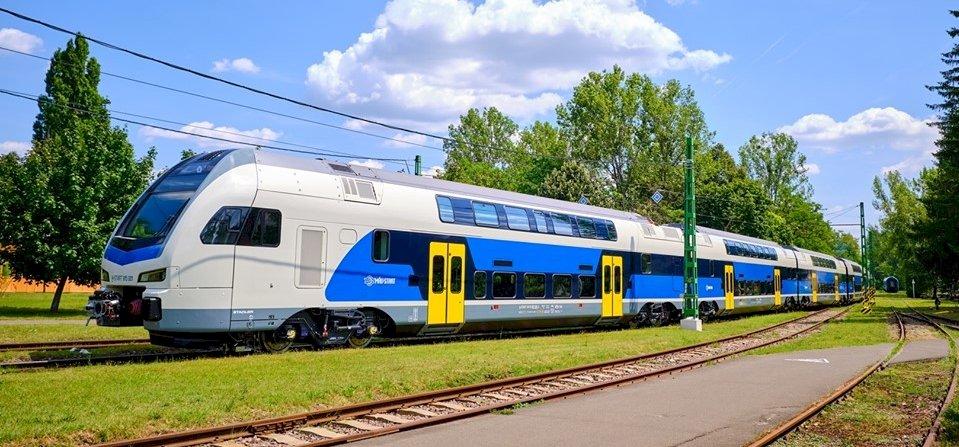 A MÁV első emeletes vonatjai 160-al száguldanak majd