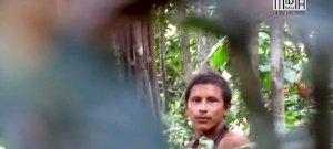 Elzárt amazonasi törzs tagját vették videóra a szomszéd törzsből