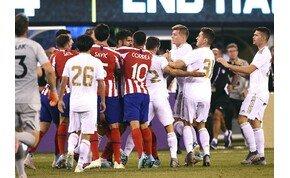 Elképesztő végeredmény: Real Madrid–Atlético Madrid 3-7! – videó