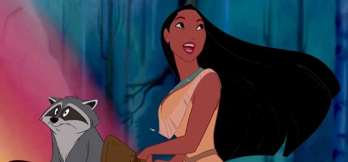 Jön az élőszereplős Pocahontas