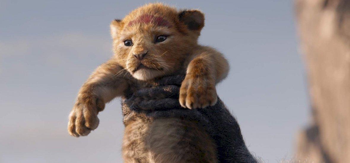 Egyetlen valódi felvétel szerepel Az oroszlánkirályban