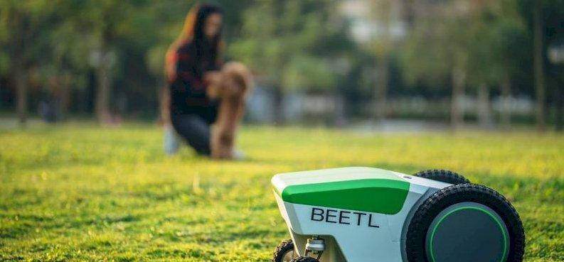 Van egy robot, amely összeszedi helyetted a kutyakakit