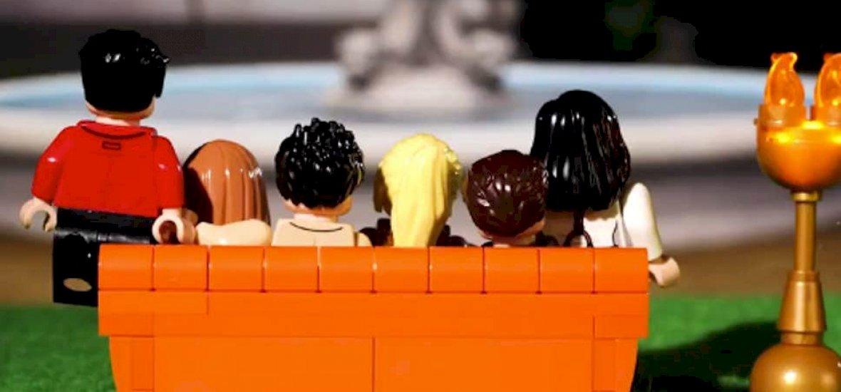 A Jóbarátokból LEGO készül