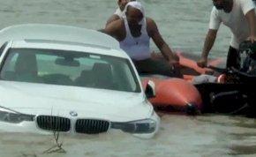 Jaguar helyett BMW-t kapott születésnapjára, folyóba lökte a kocsit