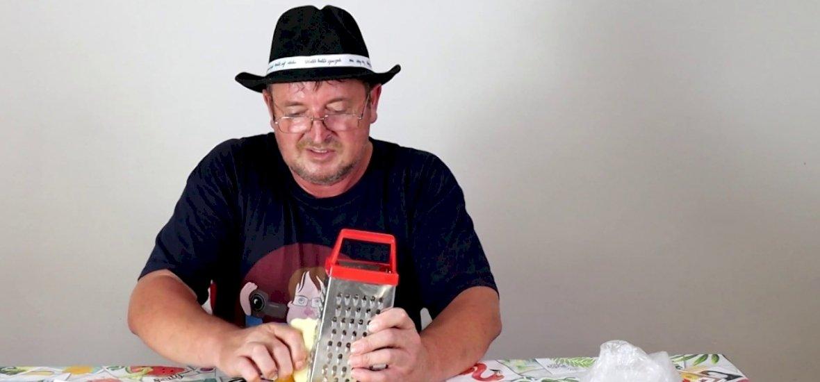 Elek Zoltán séf sajtos tésztájától tuti nem halsz éhen