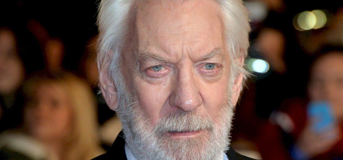 Donald Sutherland életműdíjat kap