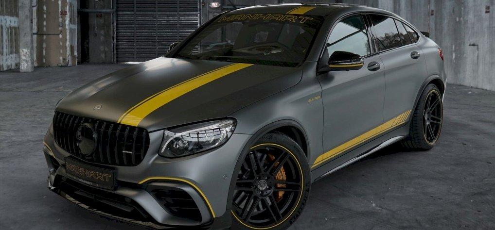 Így néz ki egy Mercedes terepkupé, ha 700 lóerőssé tuningolják