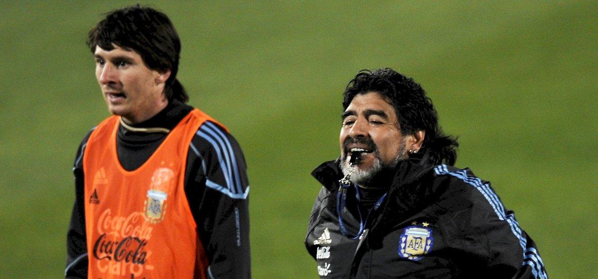 Maradona: Én tanítottam Messit