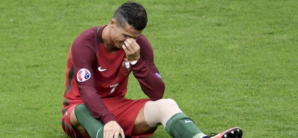 Ronaldo sírva fakadt, miután előkerült egy interjú az elhunyt apjával