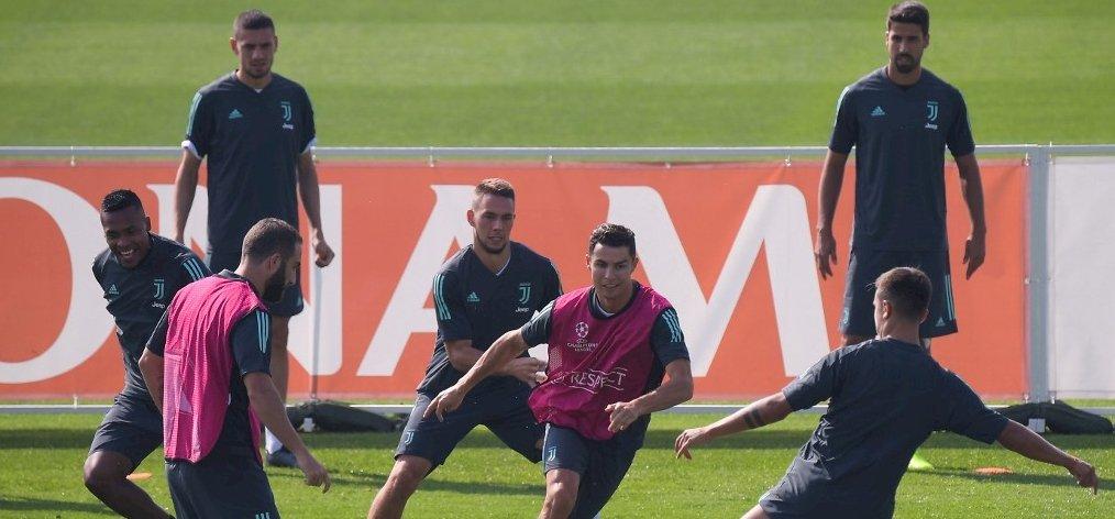 Higuain megőrült a Juventus edzésén – videó