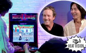 Liu Kang és Johnny Cage Mortal Kombatozott egyet