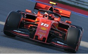 Egyszerűen megállíthatatlan Charles Leclerc, a Ferrari pilótája – galéria