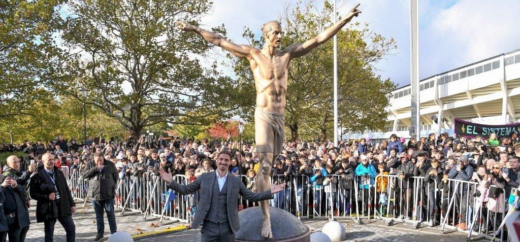 Szülővárosában avatták fel Zlatan Ibrahimovic szobrát