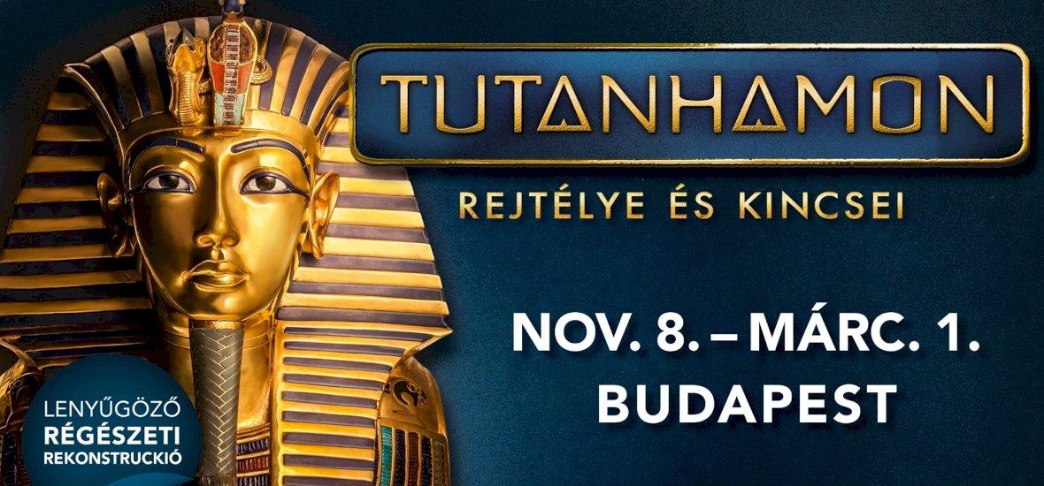 Tutanhamon-kiállítás nyílik Budapesten