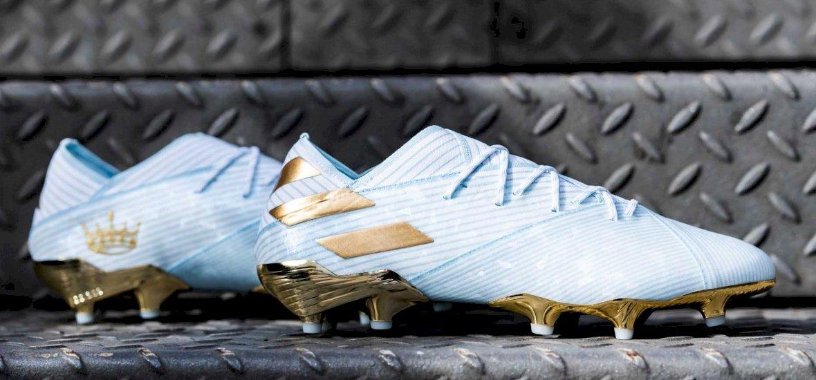 Messi 15 éve debütált a Barcában, az Adidas különleges cipőt tervezett