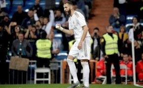 Kiütötte ellenfelét a Real Madrid, százados lett Benzema – videó