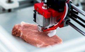 Jövőre már 3D-s nyomtatóval gyártott húst rendelhetünk az éttermekben