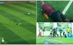 Méhek támadtak a játékosokra és a nézőkre egy futballmeccsen – videó