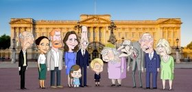 Animációs sorozatot készít az HBO a brit uralkodócsaládról