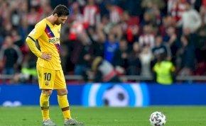 A Real Madrid után a Barcelona is kiesett a Király-kupából – videó