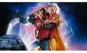 Doki és Marty a jelenben állt össze egy közös fotóra