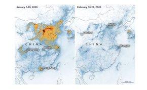 Tisztul a Föld: drasztikusan csökken a légszennyezettség
