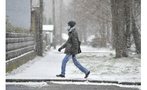 Eső, hó, télies útviszonyok, veszélyhelyzet – ha teheted, maradj otthon!