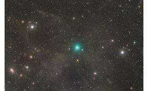 Ritka égi csoda: a Jupiternél ötször nagyobb, zöld üstökös világít majd éjszaka