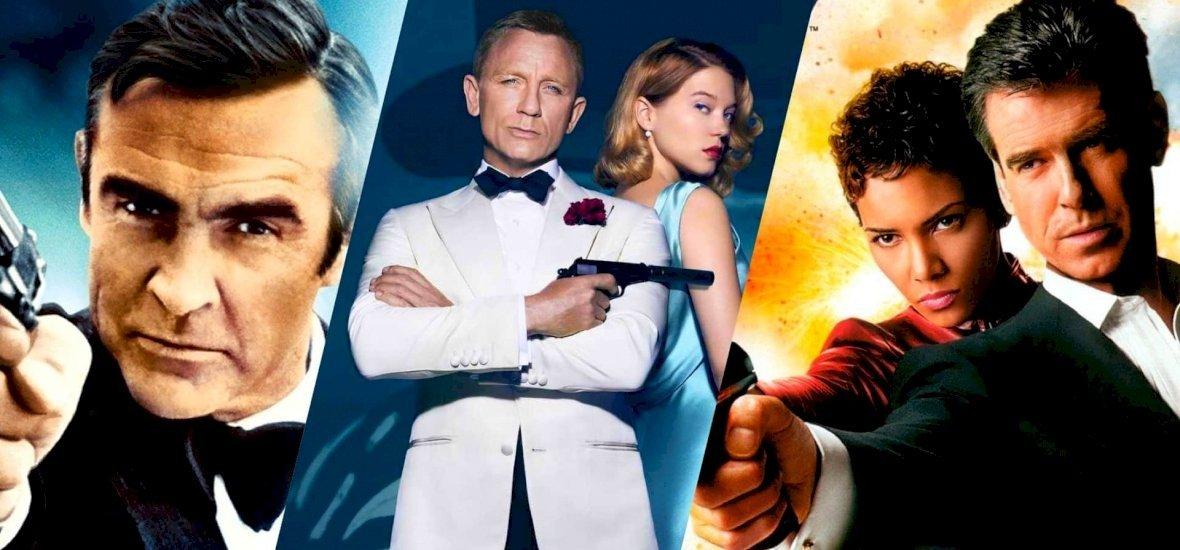 James Bond-filmek egész áprilisban – mutatjuk, hogy hol és mikor