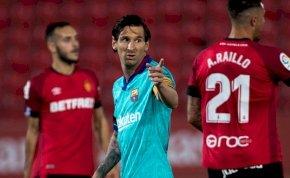 Nagy pofont osztott ki a Barcelona, és még Messi is betalált – videó