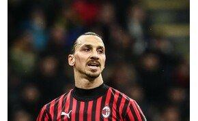 Zlatan Ibrahimovic marad a Milanban – egyelőre