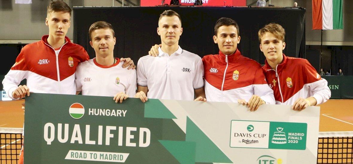 Fucsovicsék bemutatkozására még várni kell, elmarad a Davis Kupa-döntője